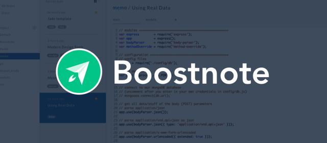 Boostnote, un ottimo aiuto per sviluppatori e non
